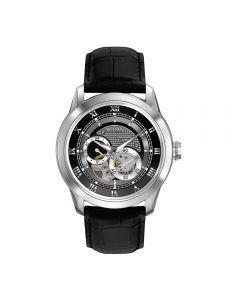 Olorologio 96A135 Bulova Watch Solo Tempo Automatico Movimento a Vista Cinturino Pelle Nero