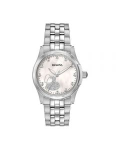 Orologio 96P182 Donna Quarzo Diamonds Diamanti solo Tempo Classic Bracciale Acciaio