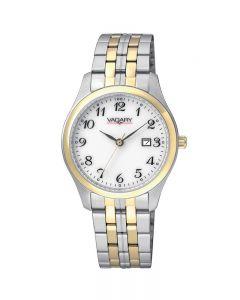 Orologio Solo tempo donna bianco bicolore cinturino acciaio Vagary By Citizen trendy cod. IH3-039-11